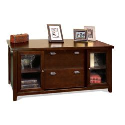 Cherry Storage Credenza with Doors