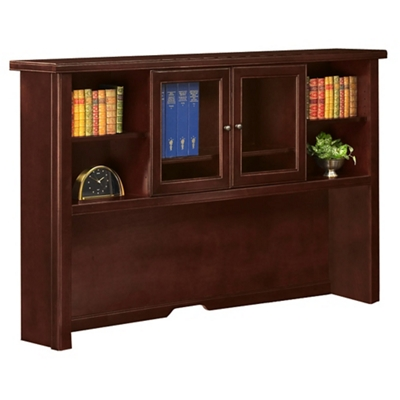 Hutch with Sliding Glass Doors