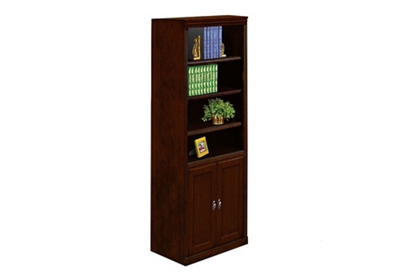 "Six Shelf Bookcase with Doors - 72""H"