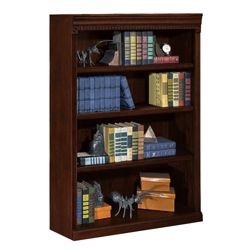 "Four Shelf Traditional Bookcase - 48""H"