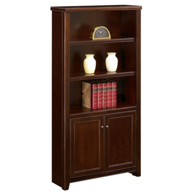 "70"" High Bookcase with Doors"