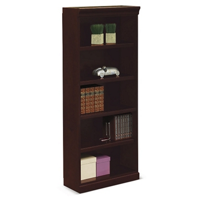 "Cumberland Five Shelf Bookcase - 72""H"