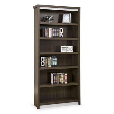 """Metropolitan 78""""H Six Shelf Open Bookcase"""