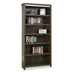 "Metropolitan 78""H Six Shelf Open Bookcase"