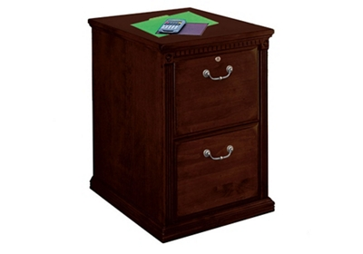 "Two Drawer Vertical File - 21""W"