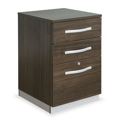 "Metropolitan 18""W Three Drawer Mobile Pedestal"