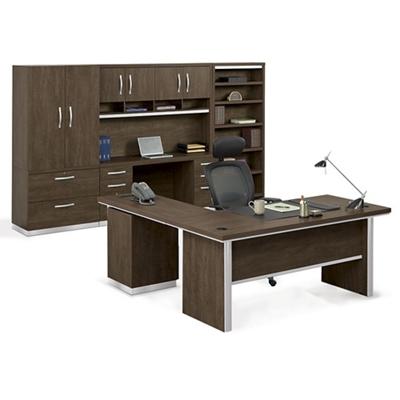 Metropolitan L Desk Suite
