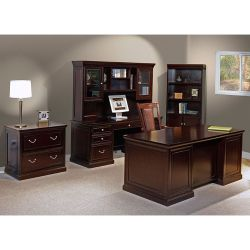 Espresso Five Piece Executive Office