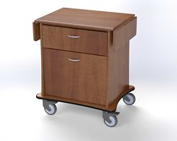 "Maternity Delivery Cart - 24""W"