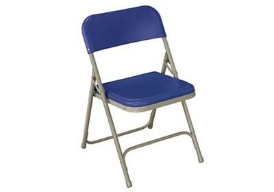 Folding Chair with U Braces and Double Rivets