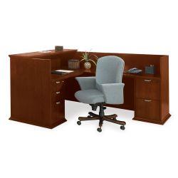 Reception L-Desk with Right Return