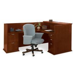 Reception L-Desk with Left Return