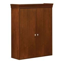 Two-Door Hutch with Wood Doors
