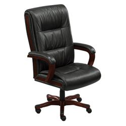 Faux Leather Big and Tall Chair
