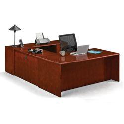 Reversible U-Shaped Desk