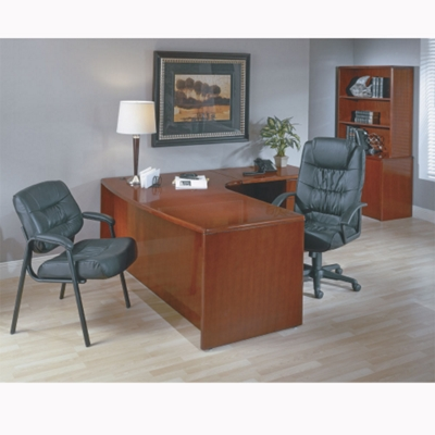 Right L-Shape Desk with Bow Front
