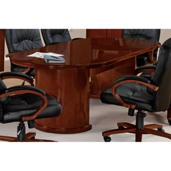 Racetrack Conference Table And More Lifetime Guarantee - Round conference table for 8