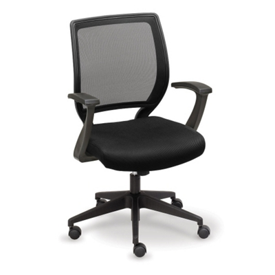 Essential Collection Mesh Chair with Memory Foam Seat