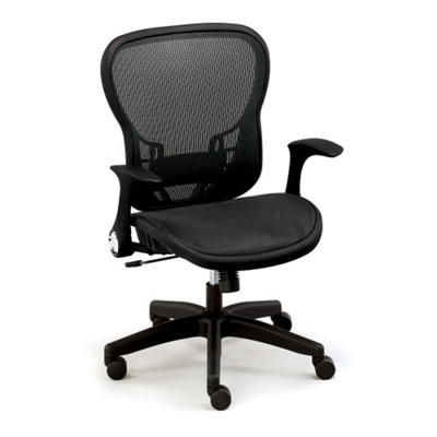 linear collection allmesh office chair