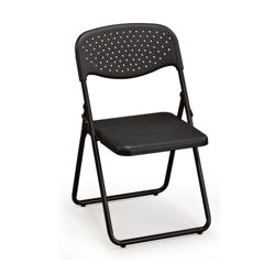 Ventilated Seat and Back Poly Folding Chair