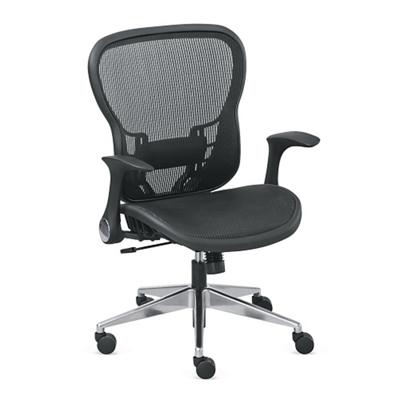 Linear Mesh Computer Chair