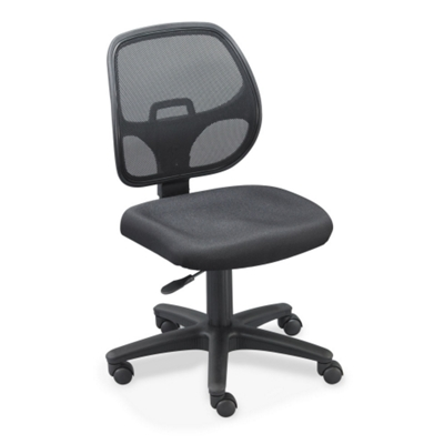 Mesh Back Task Chair with Fabric Seat