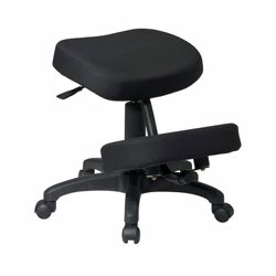 Knee Sit Chair with Five Wheel Base