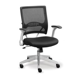 Linear Collection Mesh Chair with Memory Foam Seat