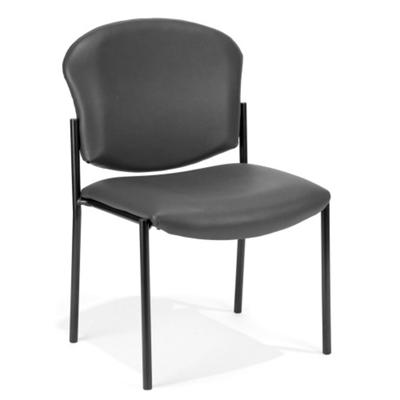 Anti Microbial Vinyl Armless Stack Chair