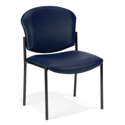 Anti Microbial Vinyl Armless Stack Chair