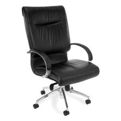 Sharp Series High-Back Leather Chair