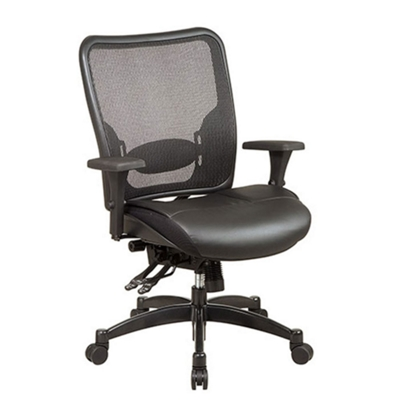 Matrex Mesh Back Leather Chair