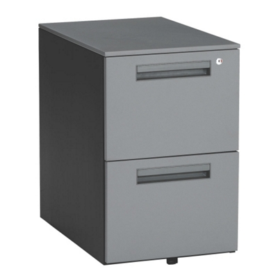 Steel Two Drawer Mobile File