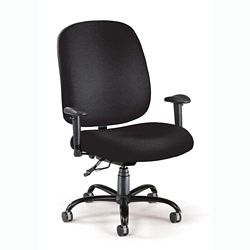 Big and Tall Ergonomic Task Chair with Arms
