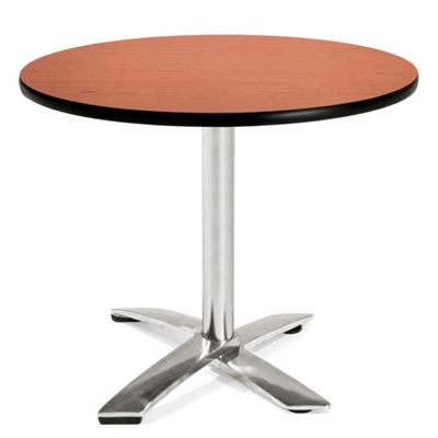 """Round Flip-Top Breakroom Table - 36"""""""