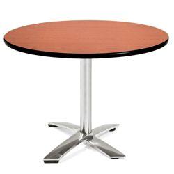 """Round Flip-Top Breakroom Table - 42"""""""