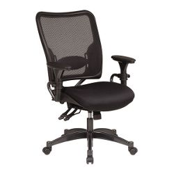 Ergonomic Chair with AirGrid Mesh Back and Fabric Seat
