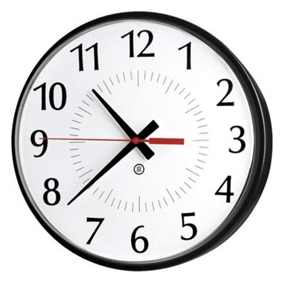 """Model 300P 10"""" Diameter Clock"""