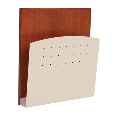HIPAA-Compliant Steel Wall Chart Holder