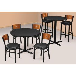 "29""H Standard and 42""H Bar Height Table Sets"
