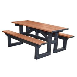 6' W Easy Access Picnic Table