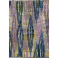 "Abstract Area Rug 5'3""W x 7'6""D"