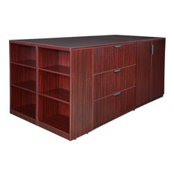 Standing Height Storage and Filing Island
