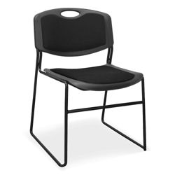 Padded Stack Chair with 400 lb. Capacity