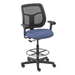 Mesh Drafting Stool