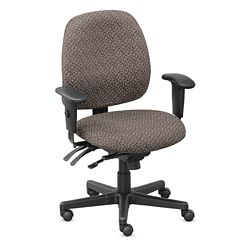 Upholstered Task Chair with Seat Slider - Hundreds of Colors Available
