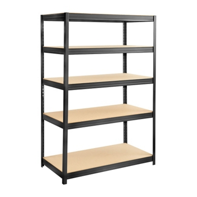 "Particleboard Shelving Unit - 48"" W x 24"" D x 72"" H"