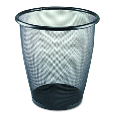 5-Gallon Steel Mesh Wastebasket