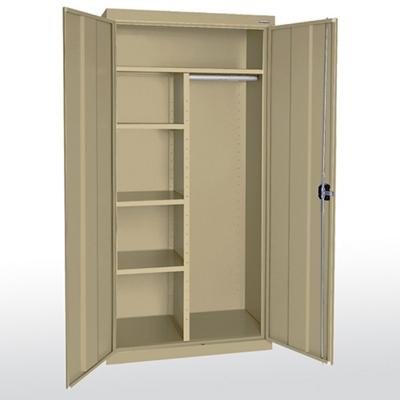 "36""W x 24""D x 78"" H Combination Storage Cabinet"