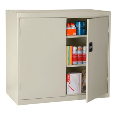 "Counter Height Storage Cabinet - 36""W x 18""D x 42""H"